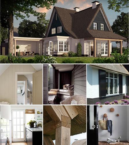 Een landelijke woning laten bouwen huis in landelijke stijl for Landelijk bouwen architect