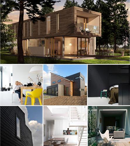 Een modern huis laten bouwen prachtige woning van blauhuis - Zeer moderne woning ...
