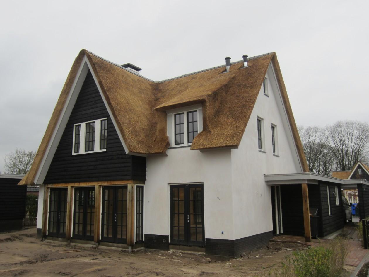 Landelijke woning blaricum bouwbedrijf blauhuis for Landelijke woning