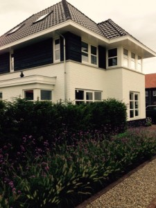 Villa Nijmegen wit gekeimd