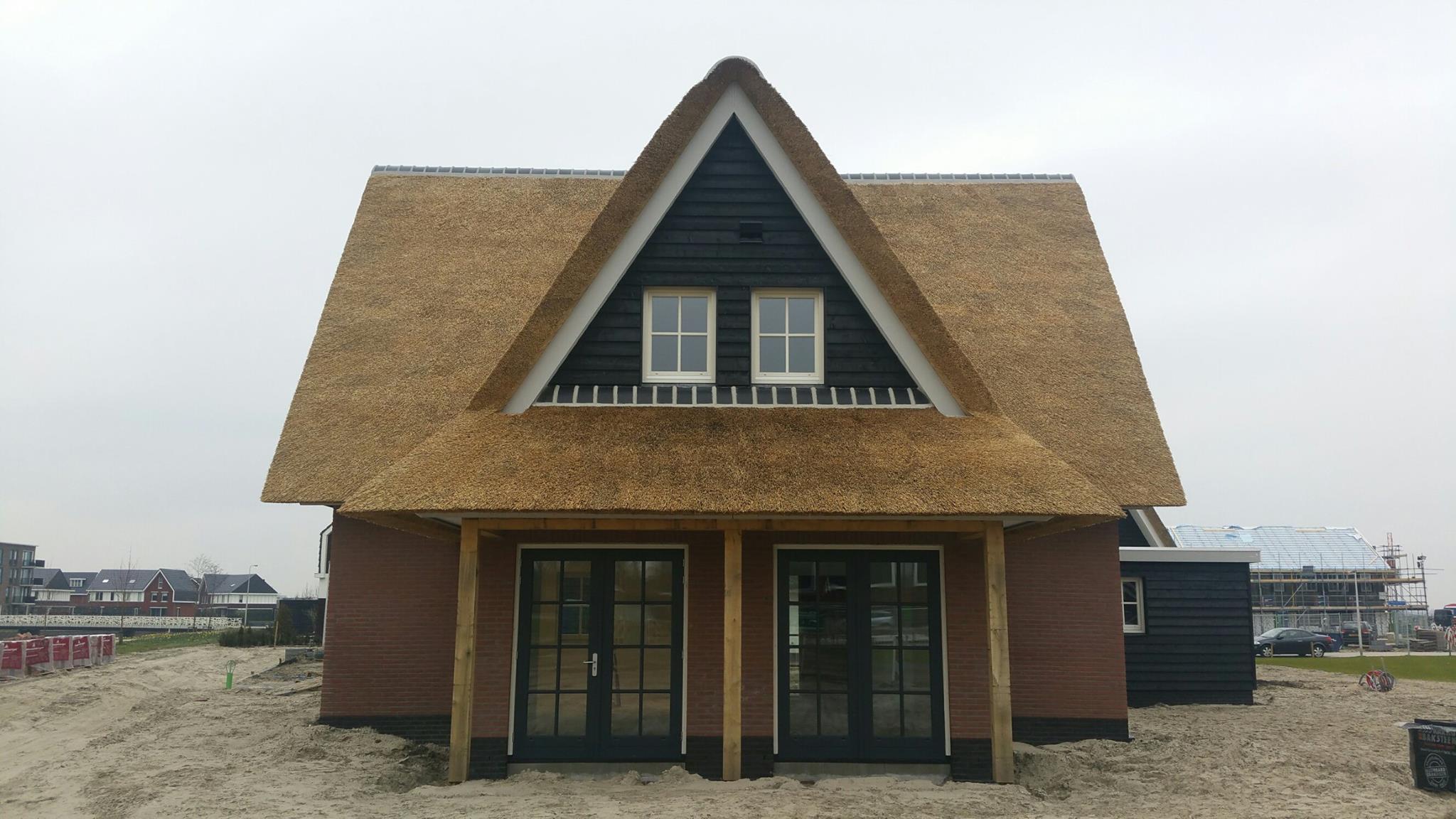 80 duurzaam huis bouwen rietgedekte woning bouwen landelijk huis bouwen schuurwoning for Afbeelding van moderne huizen