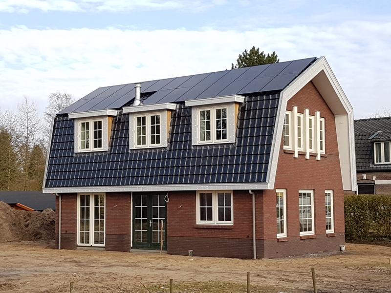 Eigentijds landelijke woning in hoogsoeren bouwbedrijf blauhuis - Exterieur ingang eigentijds huis ...