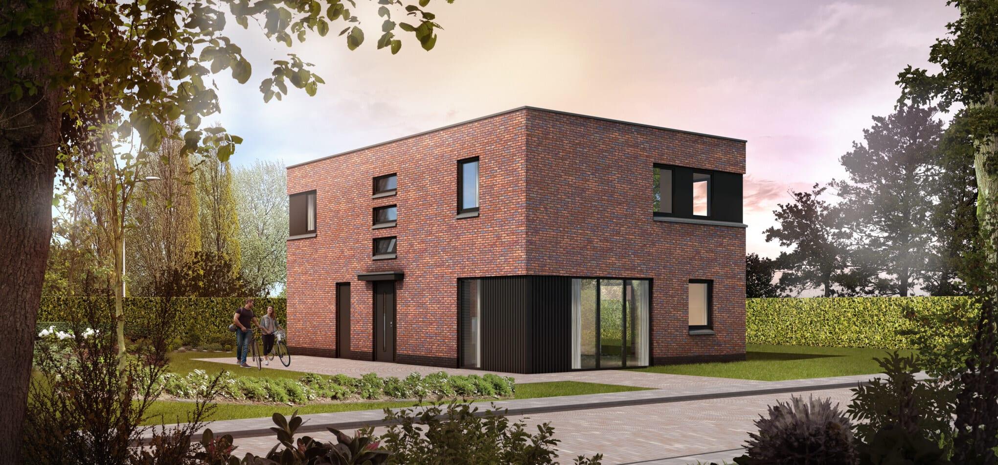 Hedendaags modern (plat dak)