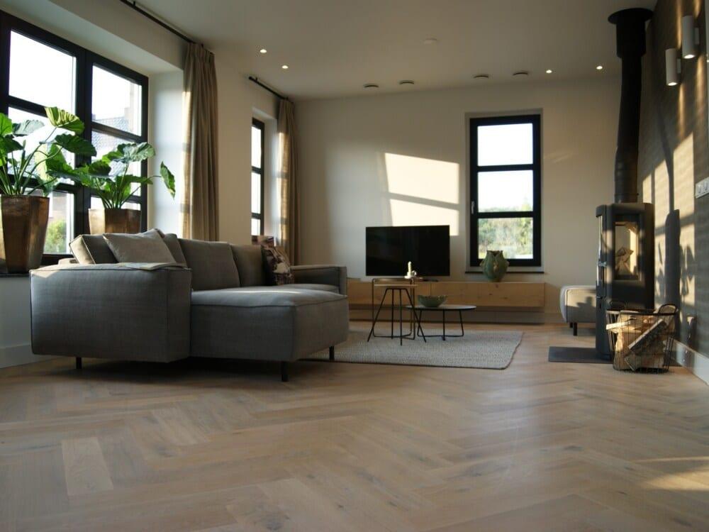 Woonkamer luxe villa