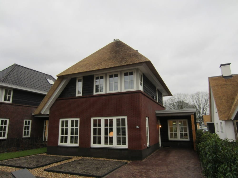 Villa Blaricum met rieten dak